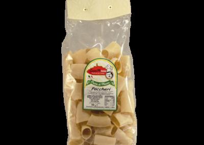 PACCHERI  Pasta fresca secca prodotta a Matera  confezione da 1/2 Kg • €1,98