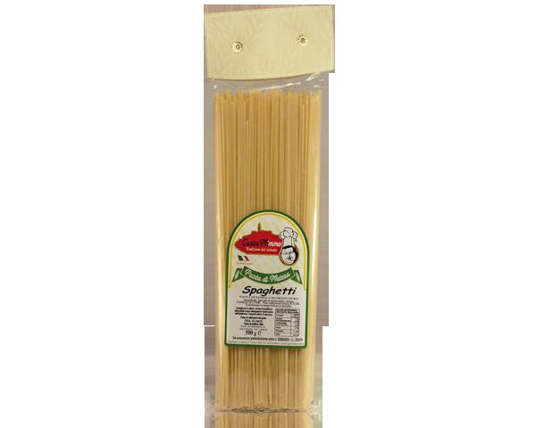 SPAGHETTI  Pasta fresca secca prodotta a Matera  confezione da 1/2 Kg • €1,65