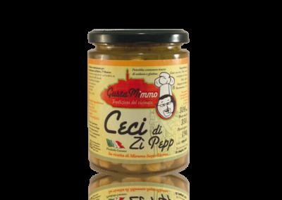 CECI DI ZÌ PEPP  Zuppa di ceci, aglio, sale, rosmarino olio evo, prodotto locale  barattolo da 314 ml • €2,70