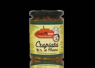 CRAPIATA FORMATO PICCOLO  Zuppa mista di legumi, prodotto locale  barattolo da 314 ml • €2,42