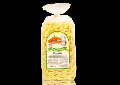FUSILLI  Pasta fresca secca prodotta a Matera  confezione da 1/2 Kg • €1,65