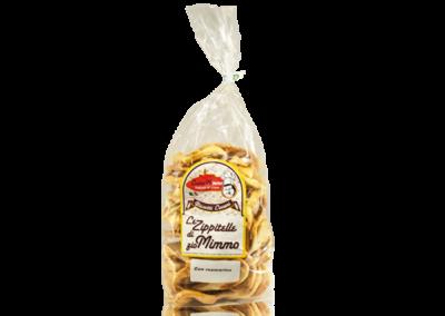 LE ZIPPITELLE DI ZIO MIMMO AL ROSMARINO  Taralli prodotto locale  confezione da 400 gr • €3,00